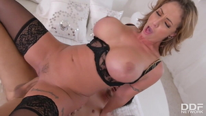 Large boobs Eva Notty & Mick Blue hard gets a good fucking