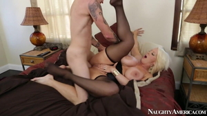 Huge boobs Alura Jenson mature bends to get fucked sex scene