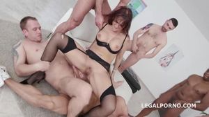 Pawg Syren Demer receives hard ramming in tight stockings HD