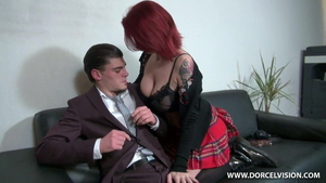 Large tits european stepmom really enjoys sucking dick in HD