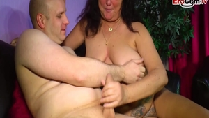 Rough slamming hard together with beautiful german slut