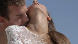 Sex in the company of gorgeous couple