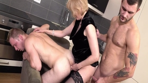 Femdom together with huge tits MILF