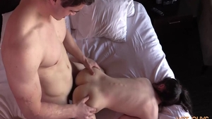 Hard sex in company with super sexy amateur
