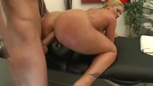 Flower Tucci wearing high heels cum in mouth HD