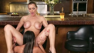 The best sex with Tanya Tate & Marina Angel