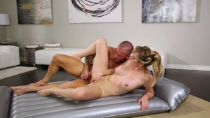 Rough nailing escorted by Brett Rossi