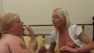 Young wife rides a hard dick