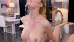 Cadence Lux with Addison Lee plowed hard