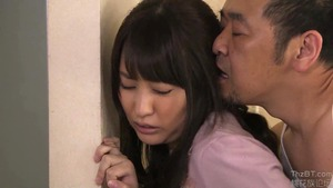 Japanese hotwife lusts sex scene