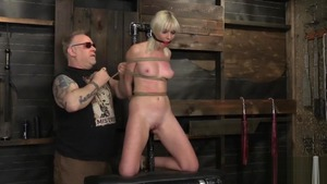 Marie Mccray in fetish hardcore roped