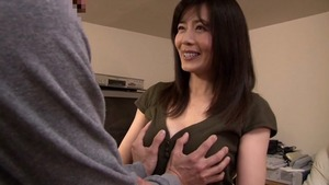 Real fucking with natural japanese hotwife