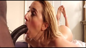 Katie Morgan and busty MILF Kate England fucked anal scene