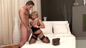 Huge tits mature Lucy Love has a thing for nailed rough