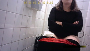 Teen fucked hard in the toilet in HD